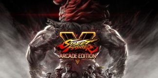 Street Fighter V - Capa