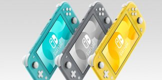 Nintendo Switch Lite - Cores
